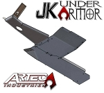 JK UNDER ARMOR - Two door Bellypan Kit