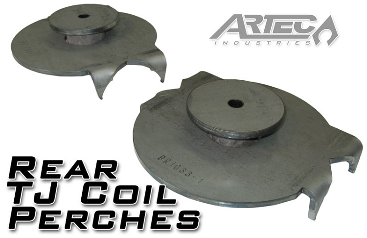 Rear Tj Coil Perches And Retainers
