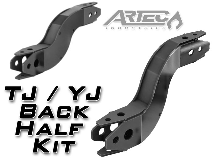 Tj Yj Back Half Frame Kit Rh Artecindustries Com 1986 Jeep Wrangler YJ  Ignition System Jeep YJ Replacement Parts