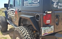 Nighthawk JKU Rear Fenders