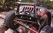 JK Front Bumper Rock Guard
