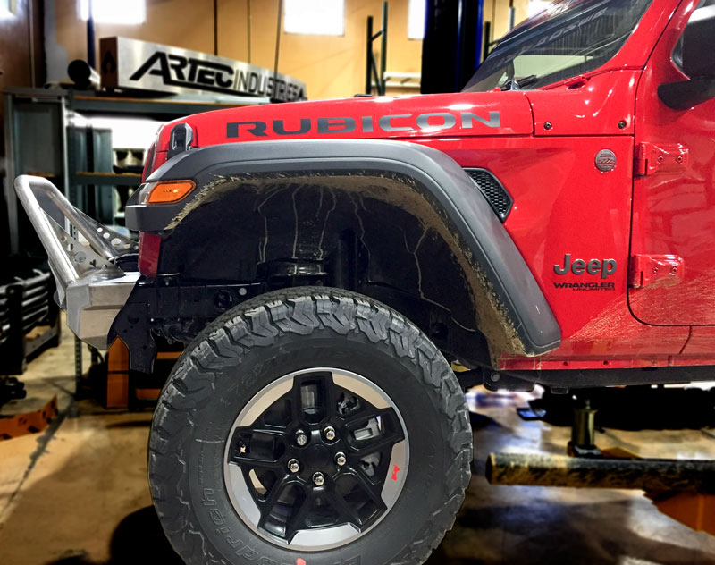 Artec Industries Night Hawk Front Bumpers For The Jl