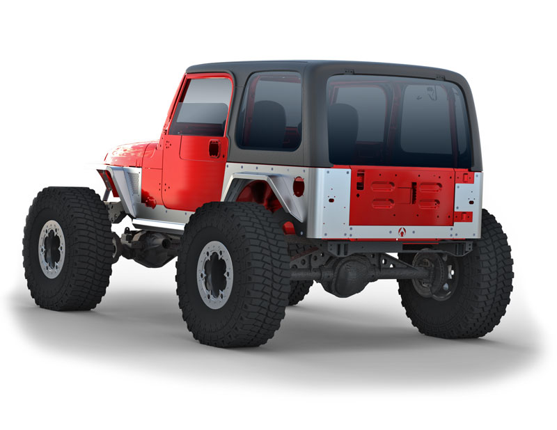 Jeep Yj Fenders >> Steel and Aluminum Armor for Jeep TJ's and Lj's from Artec - Pirate4x4.Com : 4x4 and Off-Road Forum