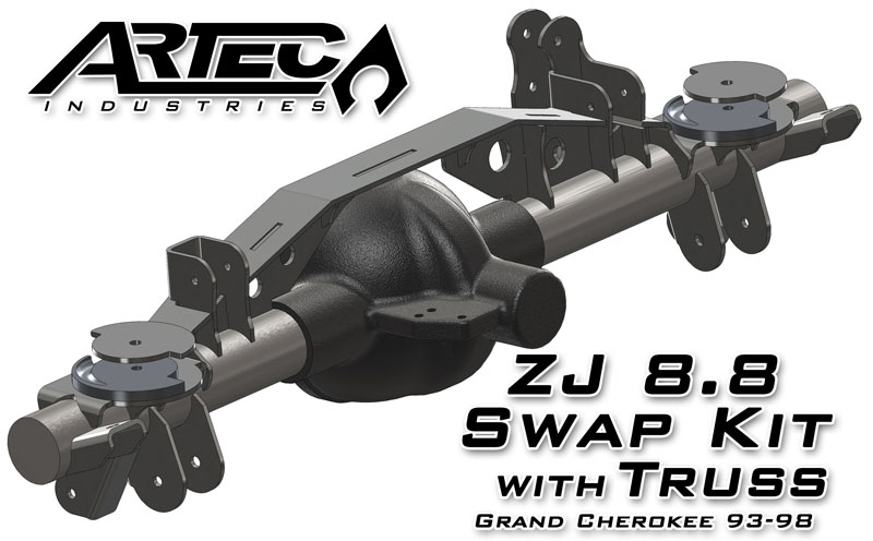 Artec Industries Zj 8 8 Swap Kit With Truss For Grand