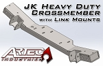 JK HD Crossmember with Link Mounts