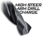 Drill Charge for D60 High Steer Arms