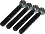 Dana 60 ARP High Steer Studs and Nuts 4 PACK KIT