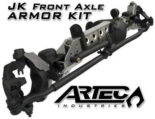 JK Front Axle ARMOR KIT