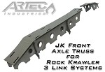 JK Front Axle Truss for Rock Krawler 3 Link Systems