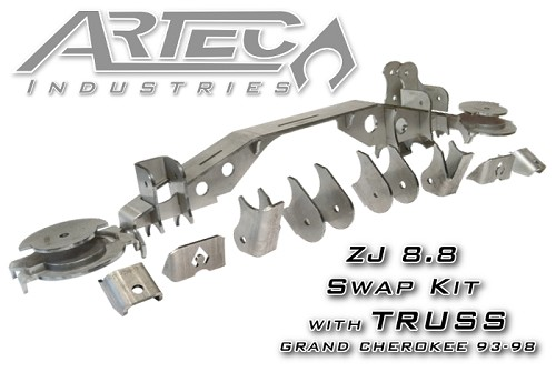 ZJ 8.8 Swap Kit with Truss for Grand Cherokee (93-98)