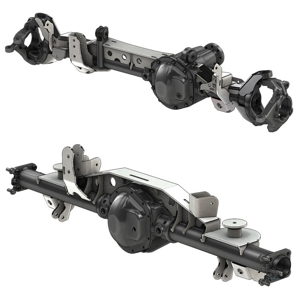 TJ Axle Swap Kits
