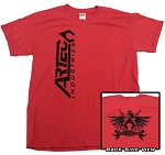 Artec Industries - Red Shirt with Vertical Artec Logo