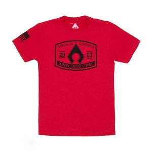 Artec Made in America Shirt - Red