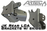 JK Rear LCA Brackets with Skids