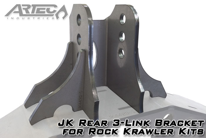 JK Rear 3-Link Bracket