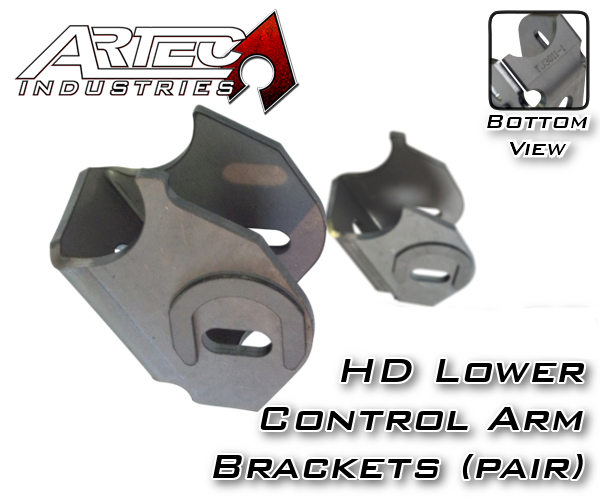 Dana 30 Hd Lower Control Arm Brackets Pair