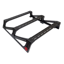 Toyota Tacoma 3G Mid Height Bed Rack - ALUMINUM