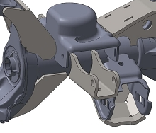 JK Front Shock Mounts