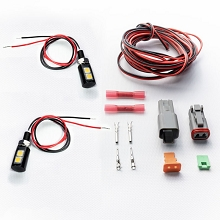 License Plate LED Lights and Harness Kit
