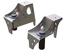 TJ Front Frame Coil Buckets for OEM bumpstops