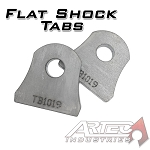 Flat Shock Tabs (pair)