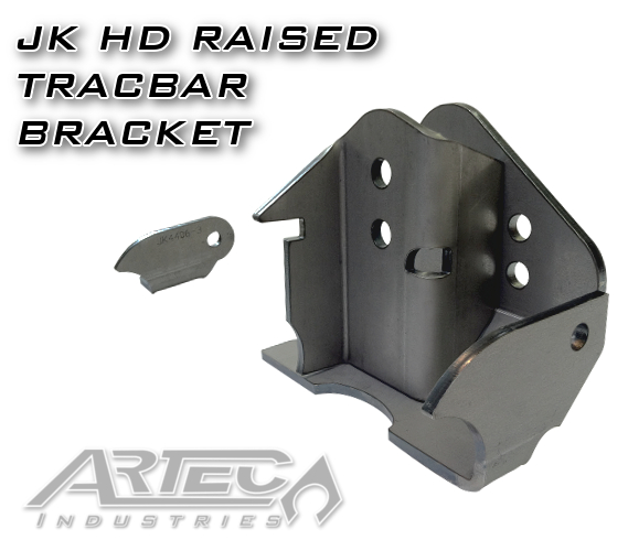JK Heavy Duty Raised Trackbar Bracket
