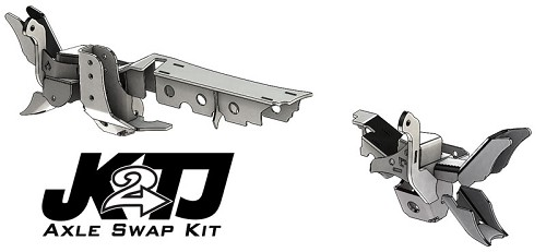 JK2TJ Front Axle Swap Kit with Truss