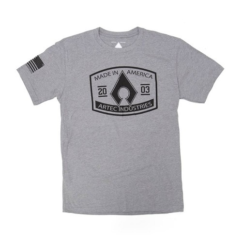 Artec Made in America Shirt - Grey